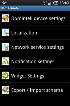 domRemote for Domintell system