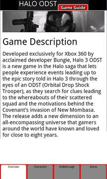 Halo 3 ODST Game Guide