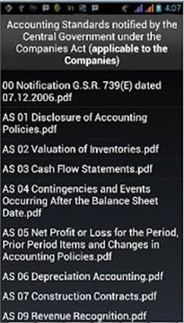 India Accounting Standards