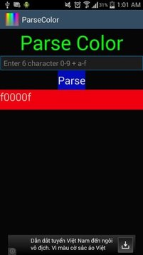 Parse Color