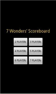 7 Wonders Scoreboard