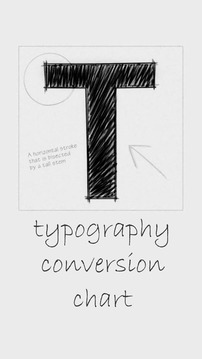 Typography Conversion Ch...