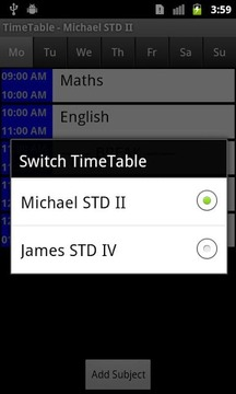 Time Table Pro