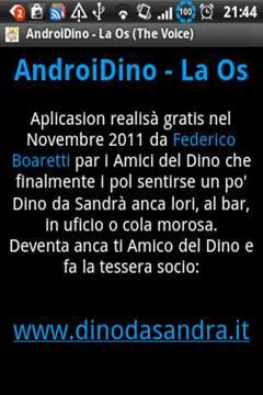 AndroiDino - The Voice