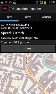 GPS Location Recorder