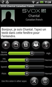 SVOX CA French Chantal Trial