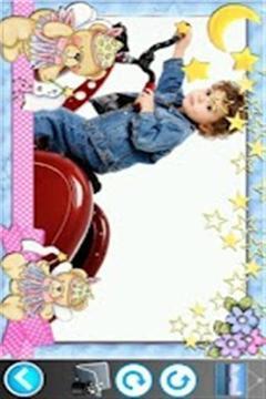 可爱儿童相框