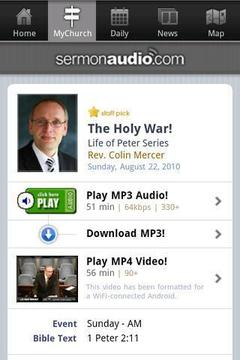 SermonAudio的Android版