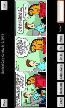 加菲猫漫画