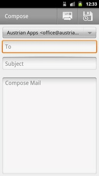 Compose Mail Shortcut