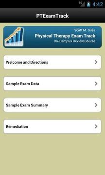 PT Exam Track