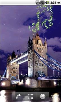 伦敦桥烟火