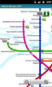 圣彼得堡(地铁24地图)