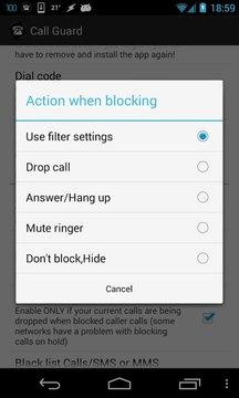 呼叫拦截器 Call Blocker
