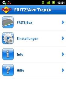FRITZ!App Ticker Widget