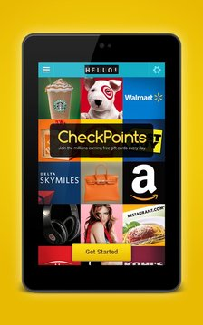 CheckPoints #1 Rewards App