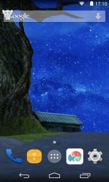 3D星星夜晚梦象壁纸