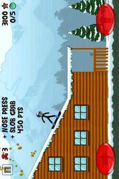 火柴人极限滑雪
