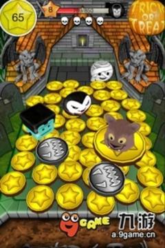 万圣节推币机 Coin Dozer Halloween