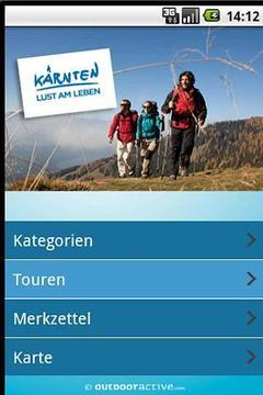 Kärnten Tourenguide