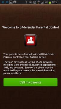 Bitdefender Parental Control