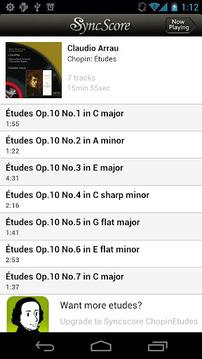 SyncScore - Chopin Études Lite