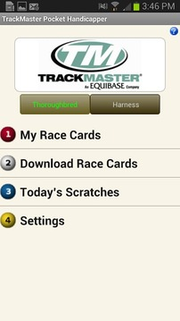 TrackMaster Pocket Handicapper