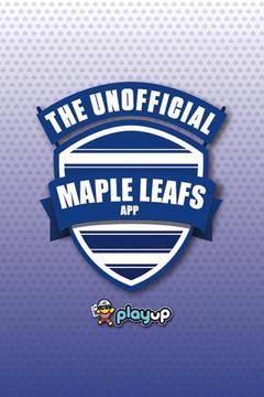 Maple Leafs App