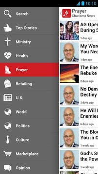 Charisma News Mobile
