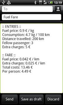 Fuel Fare