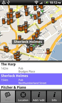 Find Pubs & Bars