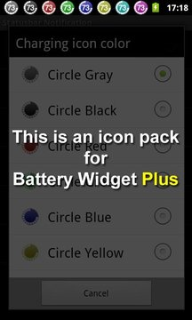 Battery Widget Icon Pack 2