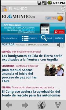 在西班牙的报纸和杂志