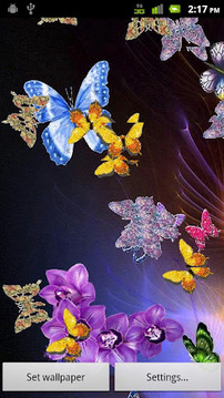 Butterfly Paradise Lite LWP