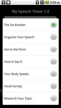 My Speech Timer 1.5