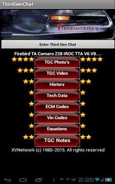 Third Gen Chat Firebird Camaro