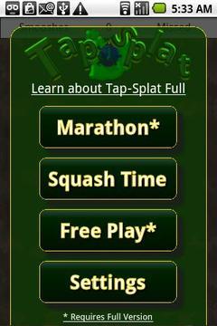 Tap-Splat Lite: Whack'n Bugs