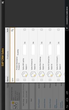 SAP CRM Sales