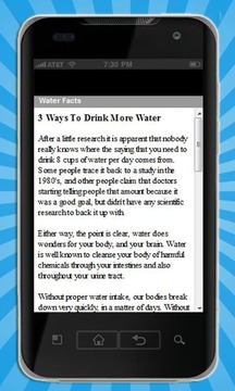 Drinking Water Secrets