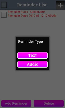 Voice Reminder Lite