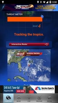 Hurricane Tracker WPBF 25