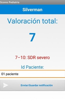 Scores Pediatría