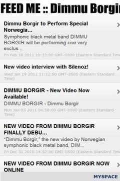 FEED ME :: Dimmu Borgir FREE
