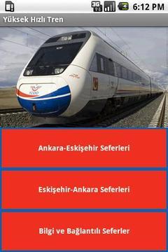 Yüksek Hızlı Tren