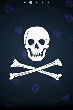 Pirate Skull Live Wallpaper