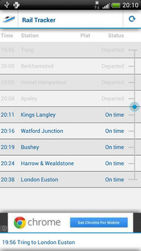 Rail Tracker - UK Train Times