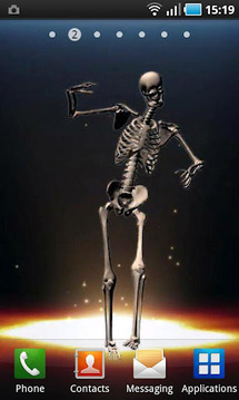 Dancing Skeleton II LWP