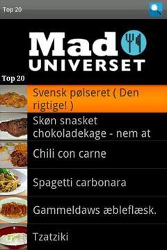 Maduniverset.dk - opskrifter