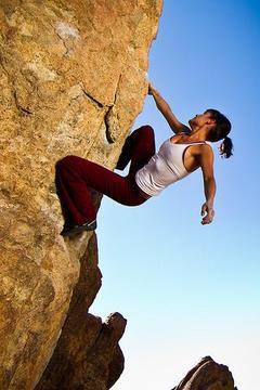岩石攀登图文并茂