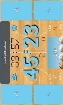 篮球记分板